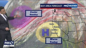 WEATHER FORECAST: Saturday AM fog transitions into cloudy, cooler conditions
