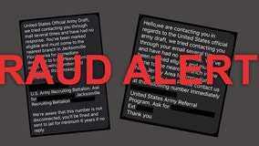 US Army alerting public of fake military draft texts circulating