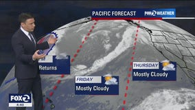 Dense fog develops overnight into Thursday, mostly cloudy