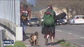 Massive Santa Rosa homeless encampment begins to move out