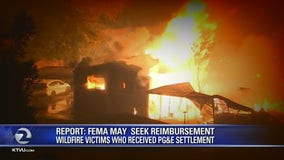 Feds could bill wildfire victims who received PG&E settlement