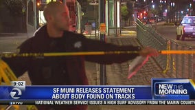 MUNI releases statement about body found on tracks