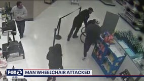 Video: Man in wheelchair dumped onto Target floor