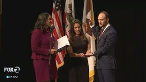 Chesa Boudin sworn in as San Francisco's 30th district attorney