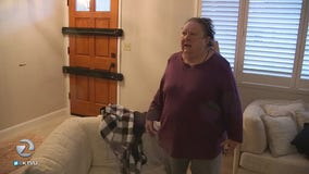 Danville woman comes face to face with burglar