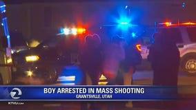 Boy arrested in Utah mass shooting