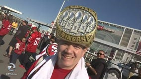 49ers fans pumped for team's playoff matchup with Vikings