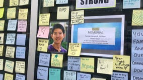 Mosaic of messages posted at scene of deadly laptop theft