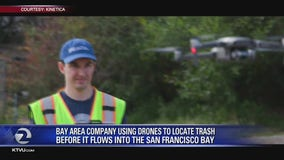Targeting trash with drones