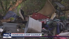 Castro Valley homeowners billed $300 for cleanup of nearby homeless encampment