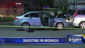 Moraga police investigate Sunday evening shooting that wounded three
