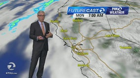 WEATHER FORECAST: Partly to mostly cloudy, chilly AM temps