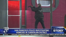 Tenderloin homicide under investigation