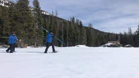 After recent storms, Sierra snowpack off to good start
