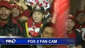 FOX 2 Fan Cam: 49ers defeat Packers in Santa Clara - Part 2