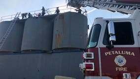 Worker in Petaluma dies after metal heap falls on him