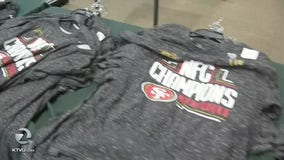 Fans rush to Dicks Sporting Goods in Pleasant Hill following 49ers win
