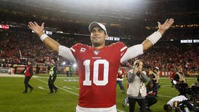 QB Jimmy Garoppolo ready for 1st playoff start for 49ers