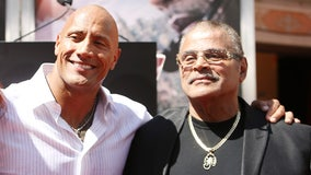 Rocky Johnson, father of Dwayne 'The Rock' Johnson, dies at age of 75