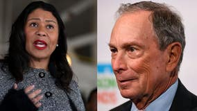 San Francisco Mayor London Breed endorses Michael Bloomberg for president