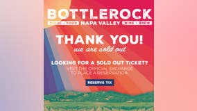 BottleRock Napa festival tickets are sold out