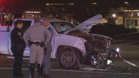 Assault suspect dies in highway patrol chase