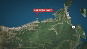 Coast Guard boat capsizes in Oregon; all 4 crew rescued