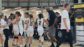 Daly City girls' basketball team was at Mamba Sports Academy as word of Kobe's death spread