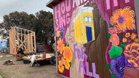 Homeless activists build 'Right to Exist' tiny homes in Oakland over MLK weekend
