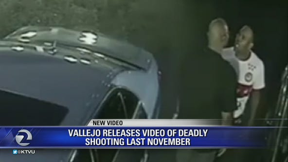 Vallejo releases surveillance video of fatal shooting involving off-duty police sergeant