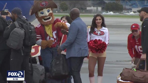 49ers arrive in Miami ahead of Super Bowl LIV