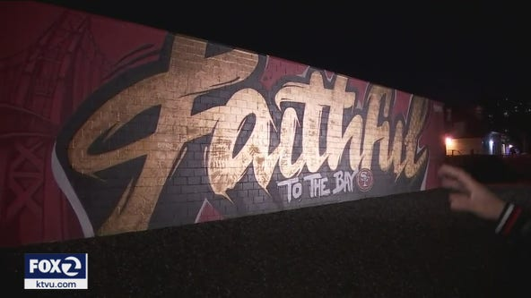 49ers commission 'Faithful' mural by Illuminaries