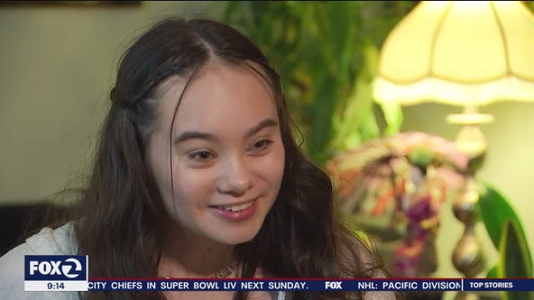 16-year-old shooting victim shares her story of survival as she gets ready to return to school