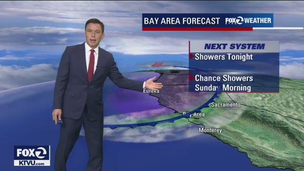 WEATHER FORECAST: Chance of rain Sunday morning, sunny in the afternoon