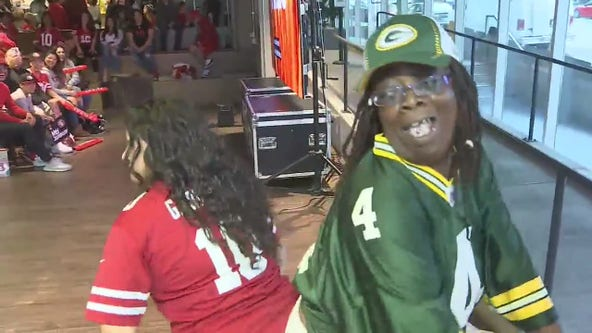 Fans celebrate 49ers victory at watch parties around the Bay Area