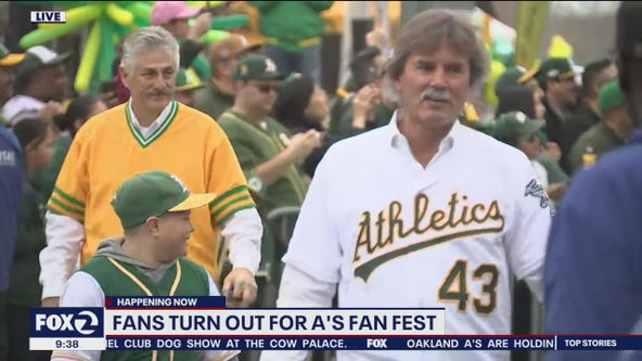 Oakland A's hold Fan Fest 2020 at Jack London Square