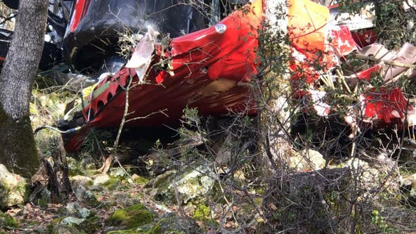 1 killed, 2 hurt in plane crash near golf course in Placer County