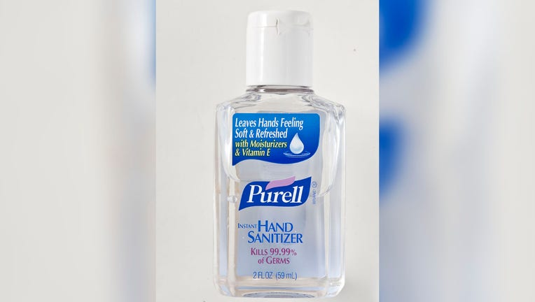 Purell hand sanitizer, available at most drugstores, does not leave residue after its rubbed in. (Photo by Bill Hogan/Chicago Tribune/Tribune News Service via Getty Images)