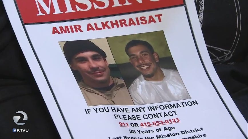 Worried family and friends wonder where missing San Francisco man is
