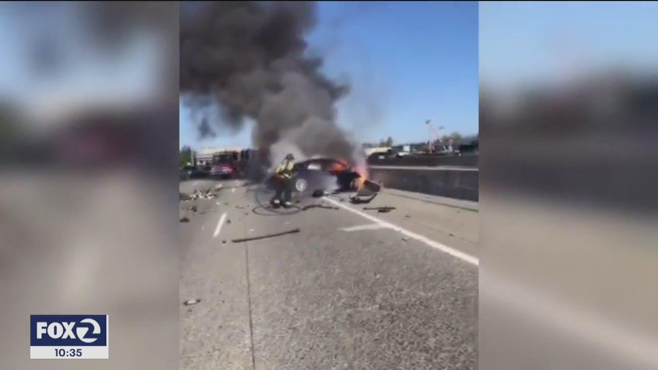 New details on deadly Tesla crash