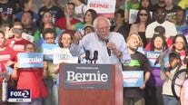 Bernie Sanders campaigns in Richmond