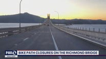 Bike and pedestrian path on Richmond-San Rafael bridge closing for maintenance