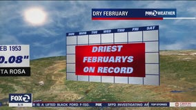 Last time San Francisco was this dry, Abraham Lincoln was president