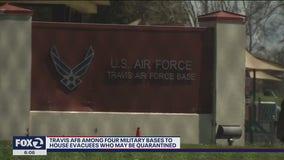 Travis AFB among the four military bases chosen to house coronavirus evacuees