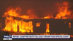 Report: Camp fire death toll likely higher than official count