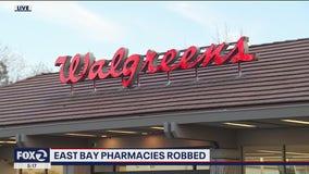 Police explore possible link between Walgreens pharmacy robberies in East Bay