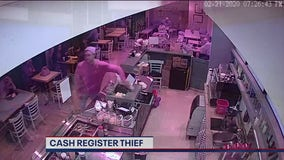 Caught on camera: Man seen taking cash from registers at SF restaurant, ice cream shop