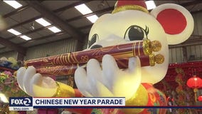 Final touches, preparations made before Chinese New Year Parade in San Francisco