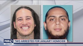 Two arrested for January homicide