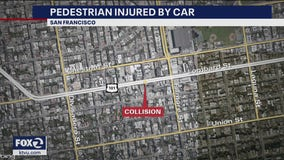 Pedestrian seriously injured in San Francisco collision